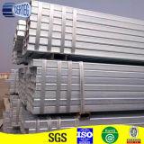 Tubo del quadrato galvanizzato A500 dell'acciaio dolce di ASTM