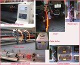 Drucken-Firmenzeichen-KennsätzeHangtag CCD-Kamera-Laser-Ausschnitt-Maschine