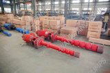 Ligne certifiée internationale pompe à eau verticale de turbine de puits