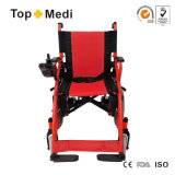 Topmedi China Supplier Foldable Electric Power Chaise roulante Tew806D
