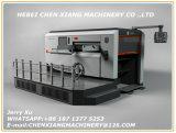 Vollautomatische flache faltende Cx-1500 und stempelschneidene Maschine