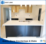 La meilleure partie supérieure du comptoir de cuisine de pierre de quartz de vente pour la décoration avec la qualité (couleurs pures)