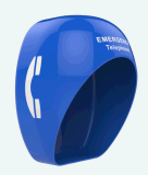 Cubierta acústica para el teléfono, el túnel de Protección Anti-corrosión capó robusto