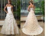 Vestito unico da /Bridal di cerimonia nuziale di stile (Angela-138)