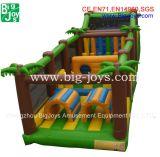 Aufblasbares Hindernis, aufblasbarer Dschungel-Spielplatz für Kinder (BJ-OB01)