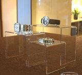"""De 2 """" 3 """" 4 """" Zwarte Stootborden van uitstekende kwaliteit van de Vertoning van het Perspex van het Plexiglas Acryl"""