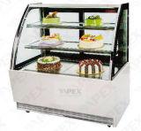 Harder van de Showcase van het Gebakje van de Vertoning van de Cake van de luxe de Stijl Gekoelde voor de Apparatuur van de Bakkerij