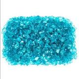 Scalpellature blu di vetro del fuoco del mare