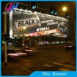 Alectionの作業のためのデジタル印刷PVC Blacklit屈曲の旗
