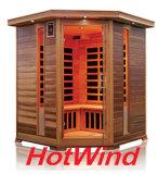 De verre Infrarode Houten Sauna van de Sauna van de Sauna Traditionele voor 3-4 Mensen (sek-D3C)