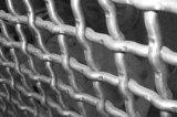 ワイヤースペースによって布ひだを付けられる金網