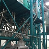Planta automática cheia da máquina do moinho de farinha do trigo