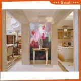 Les belles fleurs de pivoine dans des couleurs de peinture à l'huile lourde avec une résolution de résolution complète Full modèle: Hx-4-100