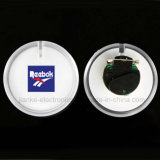 印刷されるロゴの円の形LEDの点滅のバッジ(3569)