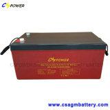 Batterij Op hoge temperatuur 12V250ah van het Gel van de Opslag van de macht de Zonne