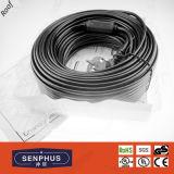 Cable de descongelación de la azotea y del canal