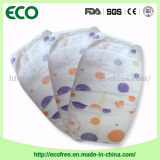 Absorvência & respirável com o tecido descartável do bebê do tipo grande de Ecofree da faixa da cintura