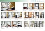 Het eenvoudige Kabinet van de Badkamers van Soild van de Stijl Houten met Ceramisch Bassin