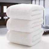 주문을 받아서 만들어지는 보통 백색 색깔 면 호텔 목욕 수건