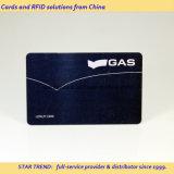 Cartes en carte noire Carte en PVC Carte en plastique