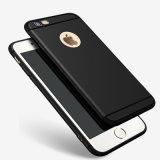 A caixa flexível super do silicone das cores dos doces para o iPhone 6 6s mais o resíduo metálico magro protege a caixa de borracha do gel de Fundas TPU da tampa do telefone da pele