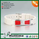 Faixa de pulso quente do silicone disponível para o logotipo personalizado (CP-JS-ND-006)