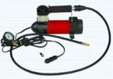 Миниый портативный компрессор металла Inflator автошины насоса автомобиля воздуха Compressor12V с светом СИД