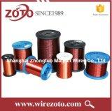 Isolamento Polyesterimide Alta Temperatura Alumínio Redonda esmaltadas 36 AWG Fio da Bobina
