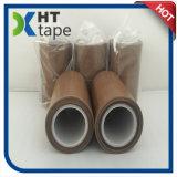 Лента ткани тефлона теплостойкmGs силикона слипчивая Coated