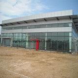 Auto-System des Stahlrahmen-4s mit Glasvorhang