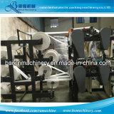 Dois sacos que fazem a máquina os sacos automáticos do saco liso/t-shirt que fazem a máquina a máquina de estaca fria 4 linhas