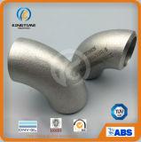 De Elleboog van het Roestvrij staal van de Montage van de Pijp ASME B16.9 Wp304/304L (KT0241)