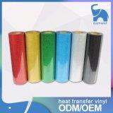 23types Glitter couleur en vinyle de transfert de chaleur/Htv Commerce de gros