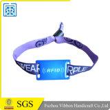 RFID Polyester gesponnener Wristband für Abend/Partei/Festival und Geschenk
