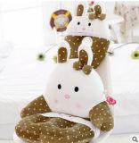 Cuscino Three-Piece dei bambini di figura del coniglio dell'OEM di prezzi di Competitve