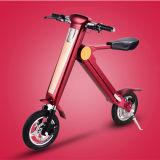 Nuovo disegno che piega bicicletta elettrica con la sede per l'adulto