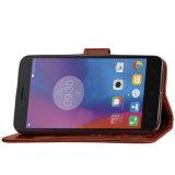 Мобильный телефон случаях крышки из натуральной кожи для Lenovo K6