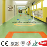 Het oranje Zachte Geluid absorbeert de VinylBevloering van de Vloer van pvc voor Commercieel KleinhandelsHuis 3.2mm van de Kleuterschool van het Gebruik