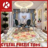 内部のフロアーリングまたはホールの床パターンタイルのための現代装飾的なタイル