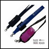 電話黒のための明確なプラスチック袋が付いている首の締縄