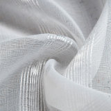 가정 직물 장식적인 단단한 보일 투명한 커튼 직물 (18F0101)