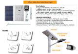 Indicatore luminoso di via solare con due la batteria di Pieces& LiFePO4