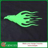 Usine de haute qualité Qingyi tissu vinyle PU Flex de transfert pour T-Shirt