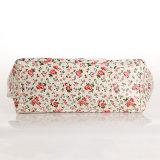Blanco Impermeable PVC Lienzo Floral Patrones bolso para la Mujer