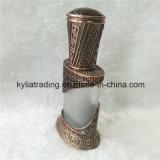 botella de perfume árabe del metal del petróleo esencial de la fragancia del oro de la aleación 15ml Mpb-24