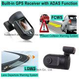 Mini Ambrella A7la50 GPS DVR TEA coche con pantalla de alta definición TFT 1,5 pulgadas, Google mapa de seguimiento, 2k Resolución de vídeo Recoder, HDR 1296p Box Negro, Aparcamiento de control DVR-1512