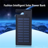 Silicone Frame Solar Power Bank 8000mAh avec Hook Design Solar Charger
