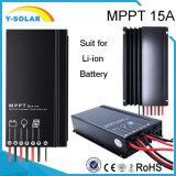 Regolatore solare Sm1575-Li della batteria MPPT 15A 12V/24V dello Li-ione IP67