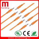 мужчина 3.5mm к удлинительному кабелю мыжского Mono кабеля заплаты тональнозвуковому - длину можно подгонять