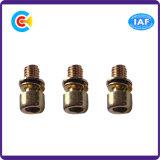 L'acier au carbone-zinc multicolores/4.8/8.8/10.9 vis à tête cylindrique à six pans avec joint/la rondelle